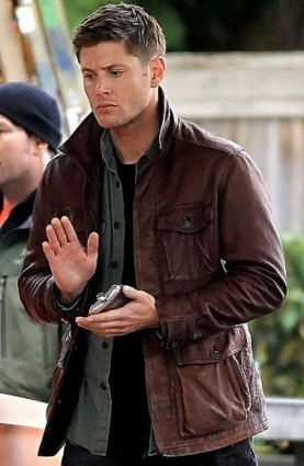 Season 7 Supernatural Brown Leather Jacket | leathersbound | Scoop.it