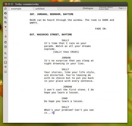 Open Source Screenwriting App for Linux Rises from the Dead | OMGUbuntu! | digital culture | Scoop.it