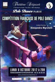 Competition Francaise de Pole Dance- Lundi 8 octobre au theatre Dejazet - Lutetia : une aventurière à Paris | Paris Secret et Insolite | Scoop.it
