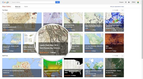 Google Lat Long: Introducing Google Maps Gallery: Unlocking the World's Maps | Educational Technology | Scoop.it