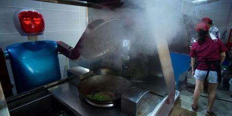 En Chine, un restaurant futuriste où des robots servent les plats de ... - Le Monde | Fusion Food | Scoop.it