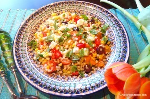 Healthy Mediterranean-Fusion Cooking: Israeli Couscous Salad with a Balsamic Vinaigrette | Food from around the world | Scoop.it