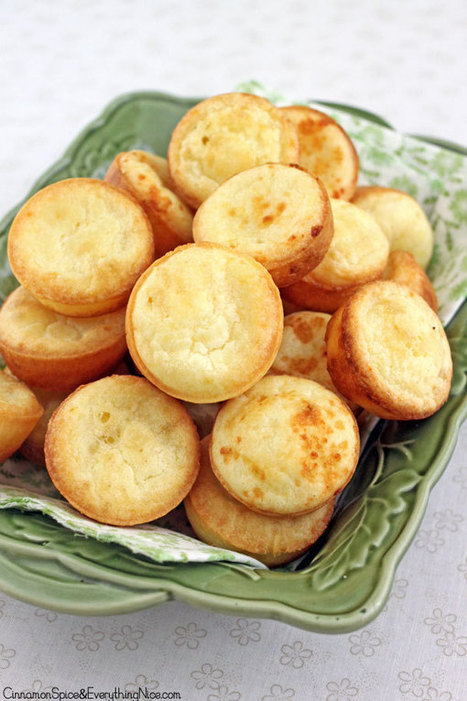Blender Brazilian Cheese Puffs | Recipes | Scoop.it