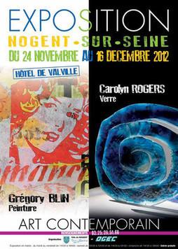 Expo d'Art contemporain à Nogent-sur-Seine avec Carolyn Rogers et Grégory Blin | Aube en Champagne | Scoop.it