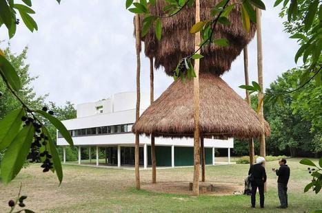 Une cabane en paille dans lejardin de Le Corbusier | Architecture pour tous | Scoop.it