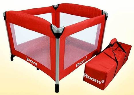 Joovy Room2 portable playard with wheels - Whyrll.com | Hot gear for home and office | Scoop.it
