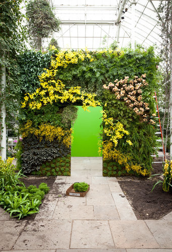 Vertical Gardens Are on Display at the New York Botanical Garden | D_sign | Scoop.it