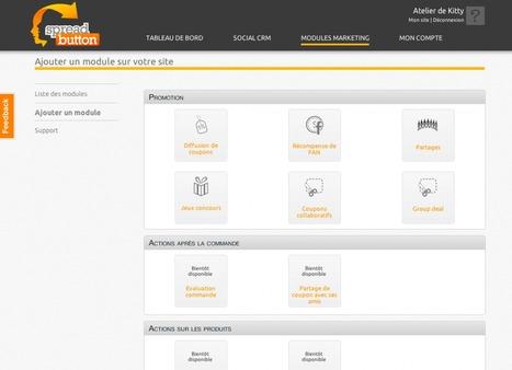 ecommerce : Croiser ses données CRM et sociales avec Spreadbutton | Time to Learn | Scoop.it
