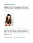 Sacred Hair Growth | Natural Hair Growth | Scoop.it