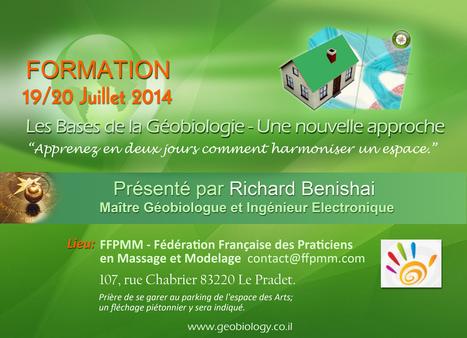 Conférence et formations en géobiologie Moderne...   Massage Formation   Scoop.it