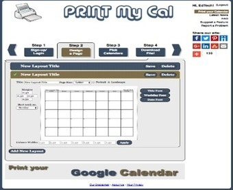 A Handy Tool to Use with Google Calendar ~ Educational Technology and Mobile Learning | TEFL & Ed Tech | Scoop.it