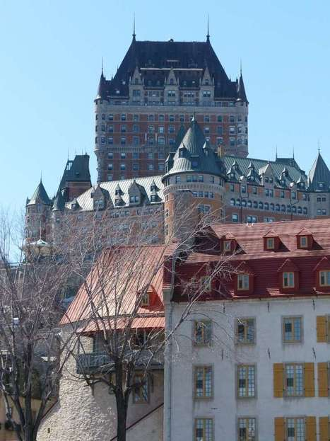 Château Frontenac - Lieu historique national du Canada - Vieux-Québec - Hôtel - Photo de château - Photo gratuite de château | Faaxaal Forum Photos gratuite Faune et Flore | Scoop.it