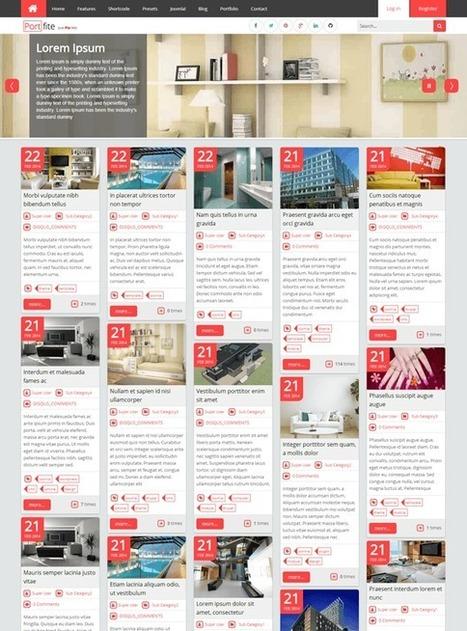 TM Portfite - Responsive Pinterest Portfolio Joomla Template | Free & Premium Joomla Templates and WordPress Themes | Scoop.it