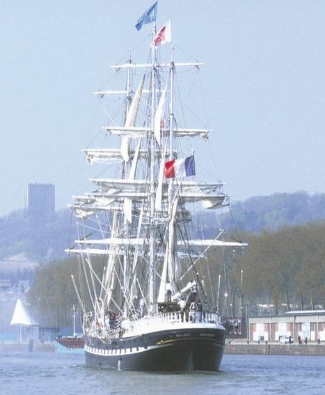 Le Belem fait son grand retour à l'Armada de Rouen | Actualités de Rouen et de sa région | Scoop.it