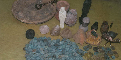 Tourism Police foil unprecedented underwater antiquity theft attempt | Égypt-actus | Scoop.it
