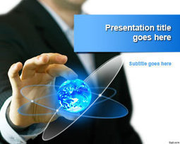 Free Global Business Trends PowerPoint Template | Free Powerpoint Templates | paisajes | Scoop.it