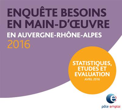 Diagnostic socio-économique de la région Auvergne-Rhône-Alpes | Observatoire de l'Emploi de la Région Auvergne | Culture Mission Locale | Scoop.it