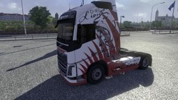 Skin Lion for Volvo FH16 2012 | Euro Truck Simulator 2 | Scoop.it