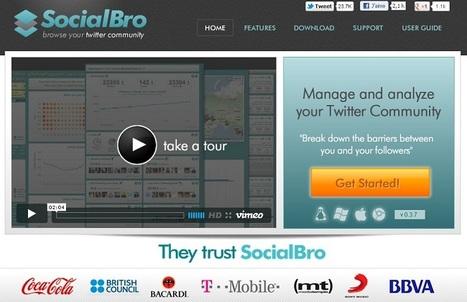 SocialBro : l'outil indispensable pour Twitter   Stratégie digitale et médias sociaux   Scoop.it