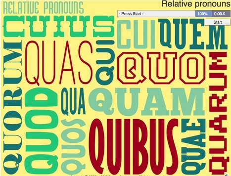 Relative pronouns | Latin.resources.useful | Scoop.it