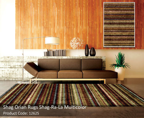 Shag-ri-la Collection – A Medley of Earth tones | Colorful World of Area Rugs | Scoop.it