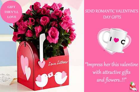 Impress Her This Valentine With Attractive Gifts And Flowers.   BlossomSquare   Scoop.it