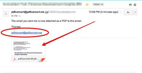 Convert Your Emails into Downloadable PDFs in One Simple Click | Desarrollo de Apps, Softwares & Gadgets: | Scoop.it