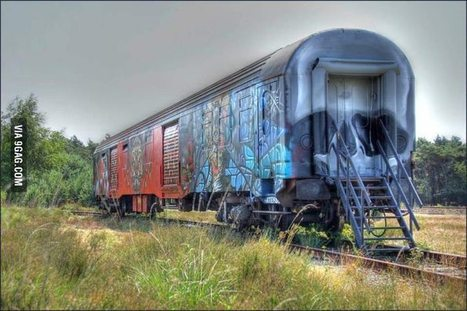 Found an abandoned train while hiking | Modern Ruins, Decay and Urban Exploration | Scoop.it