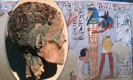 The yummy mummies: How Egyptians used gel and curling tongs to look their best 3,500 years ago | Ancient Mysteries | Scoop.it