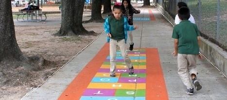 The Cheap, Colorful Way Cities Are Trying to Fight Childhood Obesity | Espacios públicos, espacios para el encuentro | Scoop.it