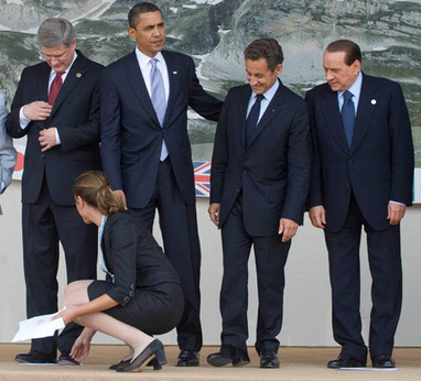 Presidential laughing stock: Five years of Sarkozy gaffes | Les blogs | A Sense of the Ridiculous | Scoop.it