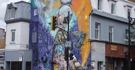 Blog d´Elisa N   Voyages, Photos et Lifestyle: Art de rue à Montréal   Richard and Street Art   Scoop.it