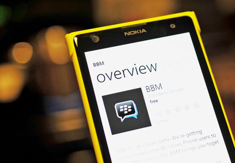 BBM Beta goes live in Windows Phone Store for downloading   DonCYber   Scoop.it