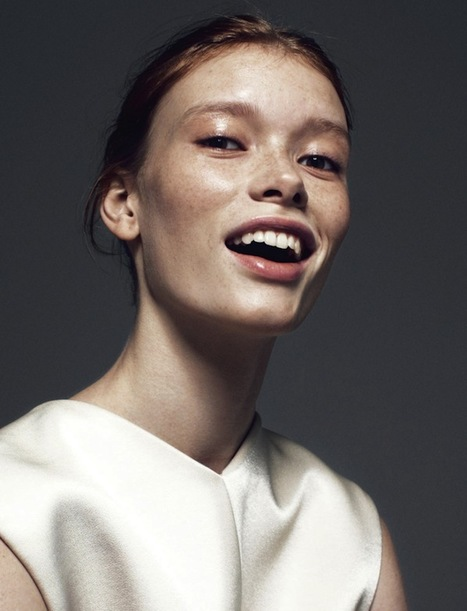 [editorial] 'fridage' | Julia Hafstrom by Andreas Öhlund for Cover Magazine | May 2013 | Fashion & more... | Scoop.it