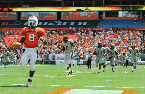 Miami Hurricanes' RB Duke Johnson named ACC Rookie of the Year | The Billy Pulpit | Scoop.it