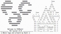 File:Fdcmucklogo.png - Wikimedia Commons | ASCII Art | Scoop.it
