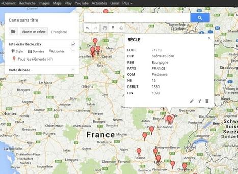 Cartographie Généalogique avec Google Maps Engine Lite - genBECLE.org | Nos Racines | Scoop.it