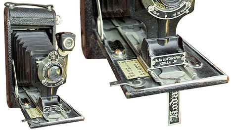 This Ancient Kodak Camera Let Photographers Sign Their Work | Big and Open Data, FabLab, Internet of things | Scoop.it