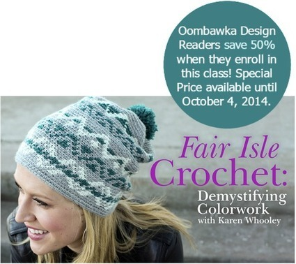 Learn Fair Isle Crochet! Oombawka Design Crochet | Free Crochet Patterns | Scoop.it