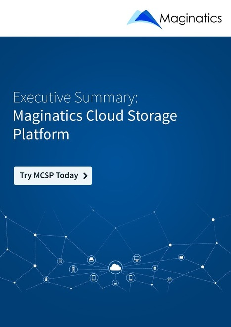 Maginatics offers unmatched scalability and elasticity for object storage | Maginatics | Scoop.it