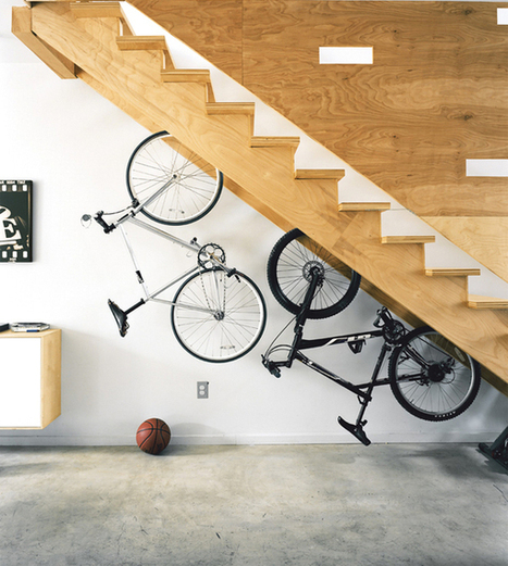 20 Creative Ideas To Use The Space Under Your Stairs | Mynspiration déco | Scoop.it