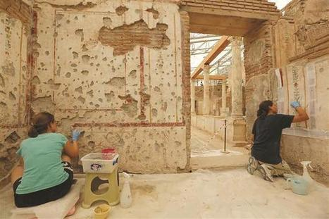 ARCHAEOLOGY - Centuries-old Ephesus paintings restored with latest technology   Teaching history and archaeology to kids   Scoop.it