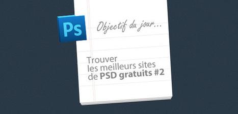 Les meilleurs sites de .PSD webdesign gratuits #2 ... | mes_metiers | Scoop.it