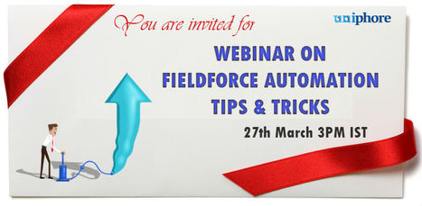 Upcoming webinar on Field Force Automation – Tips & Trick | Upcoming webinar on Field Force Automation – Tips & Tricks | Scoop.it
