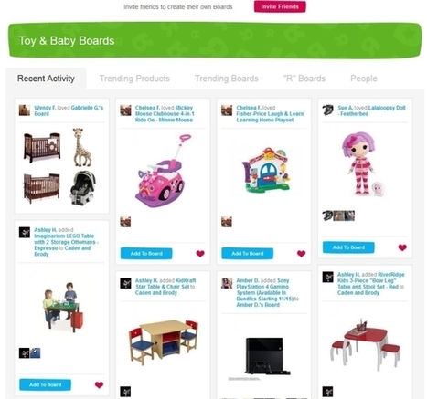 "How Toys ""R"" Us Enhanced Facebook Sharing On Its Ecommerce Sites - AllFacebook   Management, business developpement, économie digitale   Scoop.it"