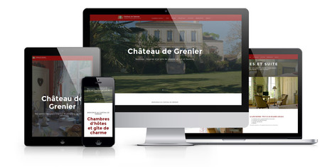 Site internet Drupal pour le Château de Grenier | Création sites internet Drupal & Magento made in Gers - Toulouse | Scoop.it