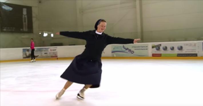 Rehoľná sestra na korčuliach: sľubnú kariéru vymenila za Boha | Aletea | Scoop.it