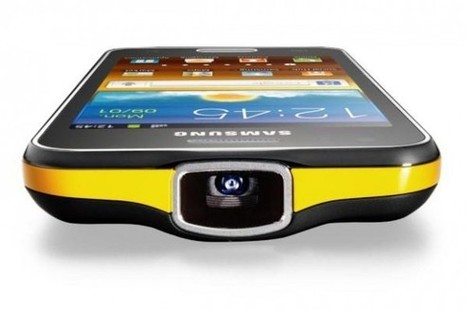 Samsung Galaxy Beam combines Android smartphone and Pico projector - SlashGear | Mobile & Technology | Scoop.it