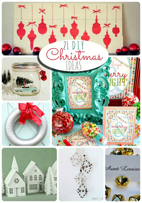 Great Ideas — 21 DIY Christmas Projects! | #thingsilove @dealiciousitalian.com | Scoop.it