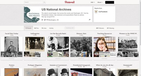 Learning Never Stops: Pinterest for American History   Enseñar Geografía e Historia en Secundaria   Scoop.it